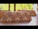 Вы такое не видели, Японская мозаика из дерева