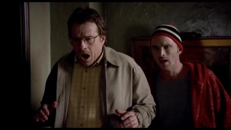 Во Все Тяжкие (Breaking Bad) Джесси Пинкман растворяет труп в кислоте