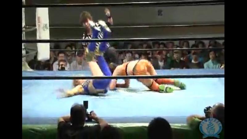 5 235 Aoi Kizuki Maya Yukihi Vs Akane Fujita Makoto Miyako Matsumoto Ice Ribbon 5 4 15