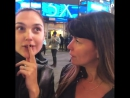Gal_gadot: Surreal for real 😳 👻😜💃🏻 Patty and I went straight to Times Square after landing in NYC . We thought we can keep our c