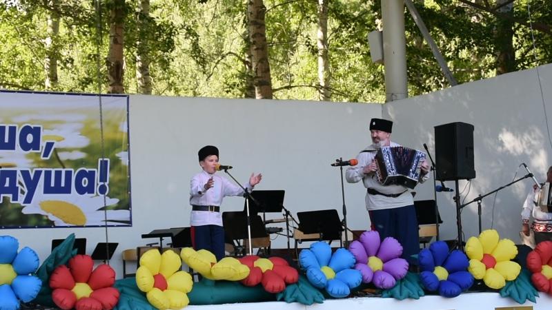 Савелий Грачёв, обладатель Гран-при в номинации сольный исполнитель народной песни в Пятом Межрегиональном конкурсе исполнителей