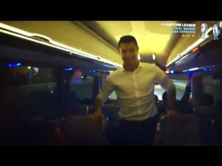 Роналду танцует под песню Fly Project – Toca Toca