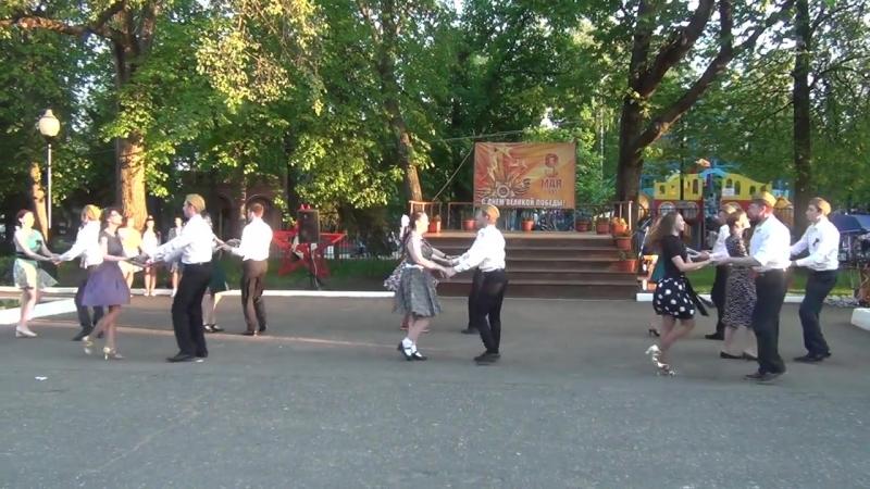 Хастл-Флешмоб в Парке Белинского. Пенза 9 мая 2016