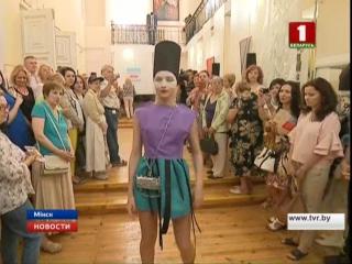 Выставка-показ Искандера Ильязова и Нины  Ковальчук в Музее театральной и музыкальной культуры 9 08 2017 Подиум-школа Fashion St