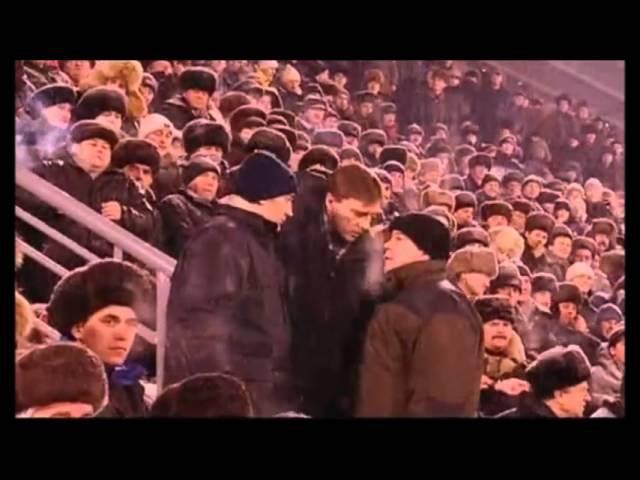 Опера и А.И.Лебедь на матче Енисей vs СКА Свердловск
