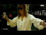 Yngwie Malmsteen on swedish tv svt PSL - showing ritchie blackmores guitar