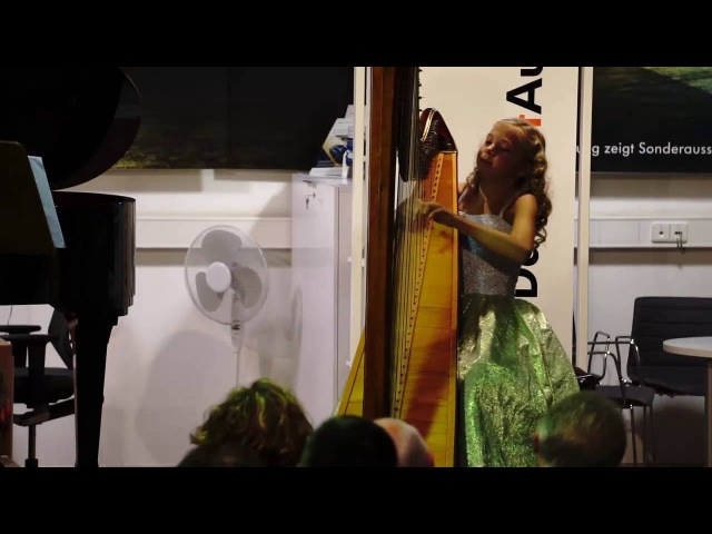 L. Spohr - Fantasie in c-moll - Alisa Sadikova (12 Years old harpist)