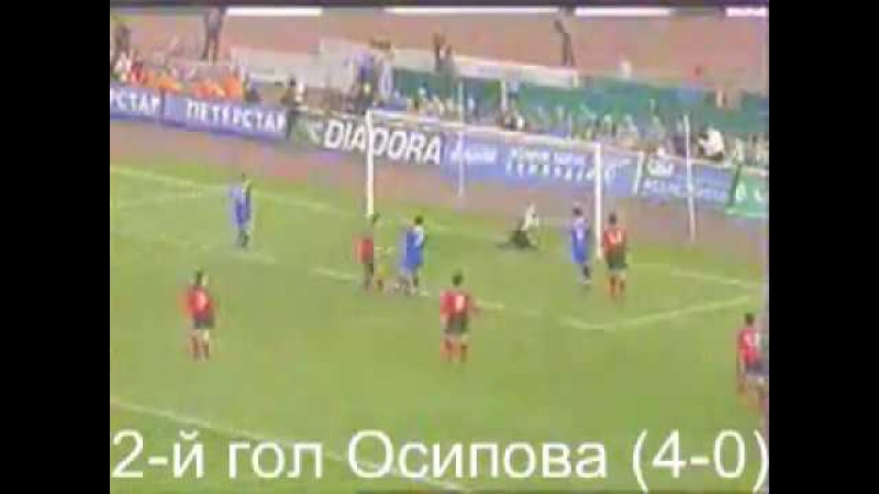 Зенит 8 0 Энкамп 29 08 2002 FC Zenit FC Encamp
