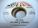Cry Love - The Sweet Innocent The Memphis Mustanges