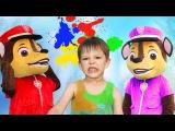 BAD BABY Learn colors with Paw Patrol toys Вредные детки Щенячий патруль Игрушки Видео для детей