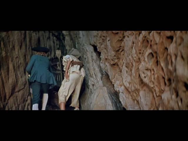Фрагмент из т ф Остров сокровищ в Сырных скалах