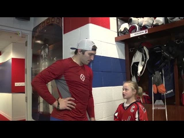 Ovechkin grants young fans request