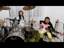Eduarda Henklein  -  7 Years   (COVER Drum/Bass)  Pink Floyd - The Wall