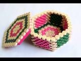 Quilled Hexagon Box Jewellery Box Hexagon Box