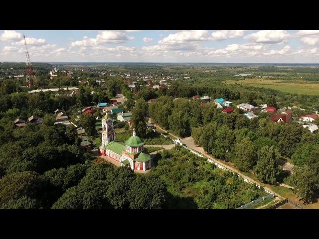 Крестовоздвиженский соборный храм и его жемчужина (г.Вязники)