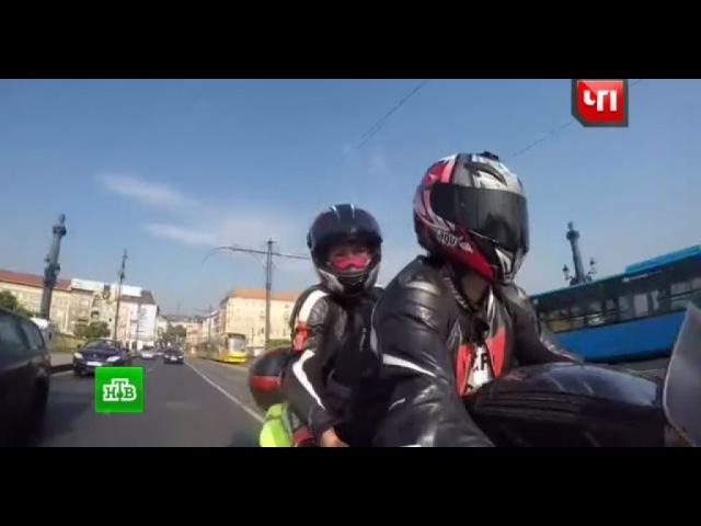 Корреспондент НТВ совершила мотопробег в Грецию, чтобы помочь мужу победить бол...