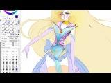 Speed Painting - Sailor Februus - digital art