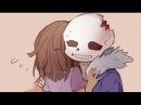 Horrortale комиксы | Санс и Ализа | 16+