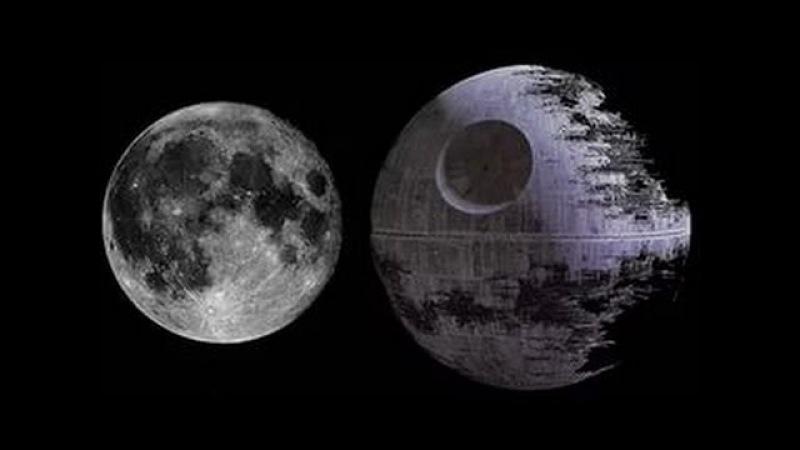 Видеодоказательство Луна это качественная голограмма на куполе Плоской Земли