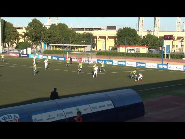 Голы матча Зенит-2 - Сибирь