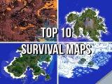 Jeracraft's Top 10 Survival Maps &amp Islands!
