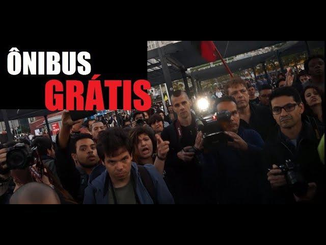 Manifestação estudantes - Ônibus grátis?