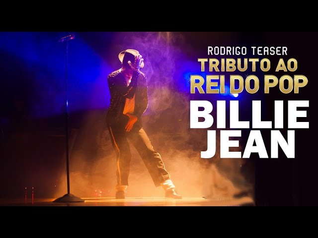 Billie Jean - Michael Jackson (Rodrigo Teaser - Tributo ao Rei do Pop)