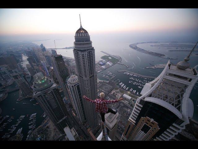 Oleg Cricket - The man has zero fear of heights- Người sở hữu tinh thần thép bậc nhất thế giới!