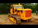 Гусеничный трактор ЧТЗ Т-100 Сталинец . Kettentraktor T-100 Stalinec .