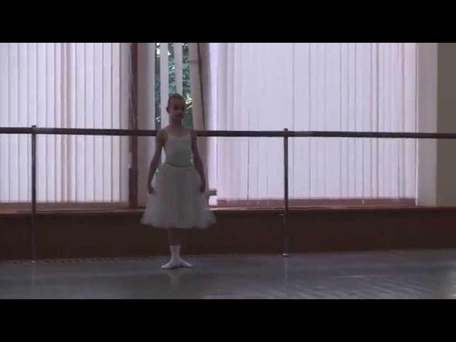 Подготовительный класс Вихревой Н.А. (МГАХ-2014) - ПОЛЬКА №2 (Диана КРУГЛОВА)