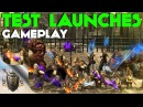 Pandora Saga Remake. Test Launches. Gameplay.