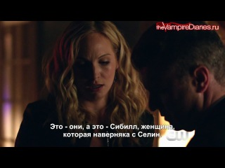 The Vampire Diaries 8x06 Webclip 1 - Detoured on Some Random Backwoods Path to Hell [Рус. субтитры]