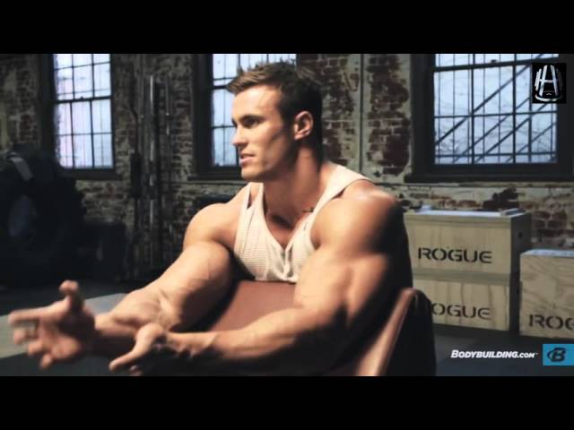 Калум фон Могер Тренировка рук Calum von Moger Arms workout