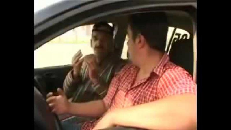 Таксист и узбек Узбекский Прикол ( Узбекча прикол )
