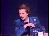 Margaret Thatcher Nato Press Conference 1990