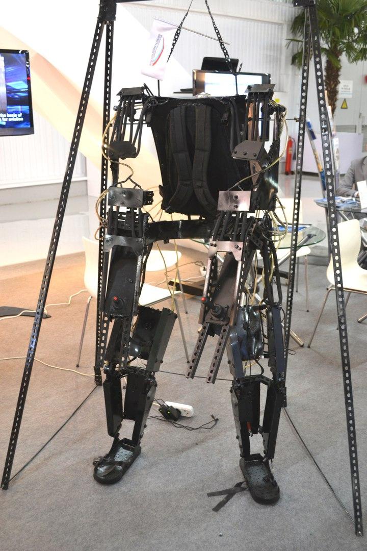 Крутая самоделка - силовой экзоскелет своими рукамиКрутая самоделка - силовой экзоскелет своими руками