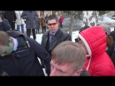Навальный в Бийске. Жесткие дебаты с НОД. Облили зеленкой системка