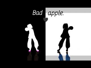【 MMD】 - 「 Bad apple」