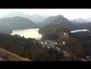 Alpsee Красивый вид на закате Германия 2016