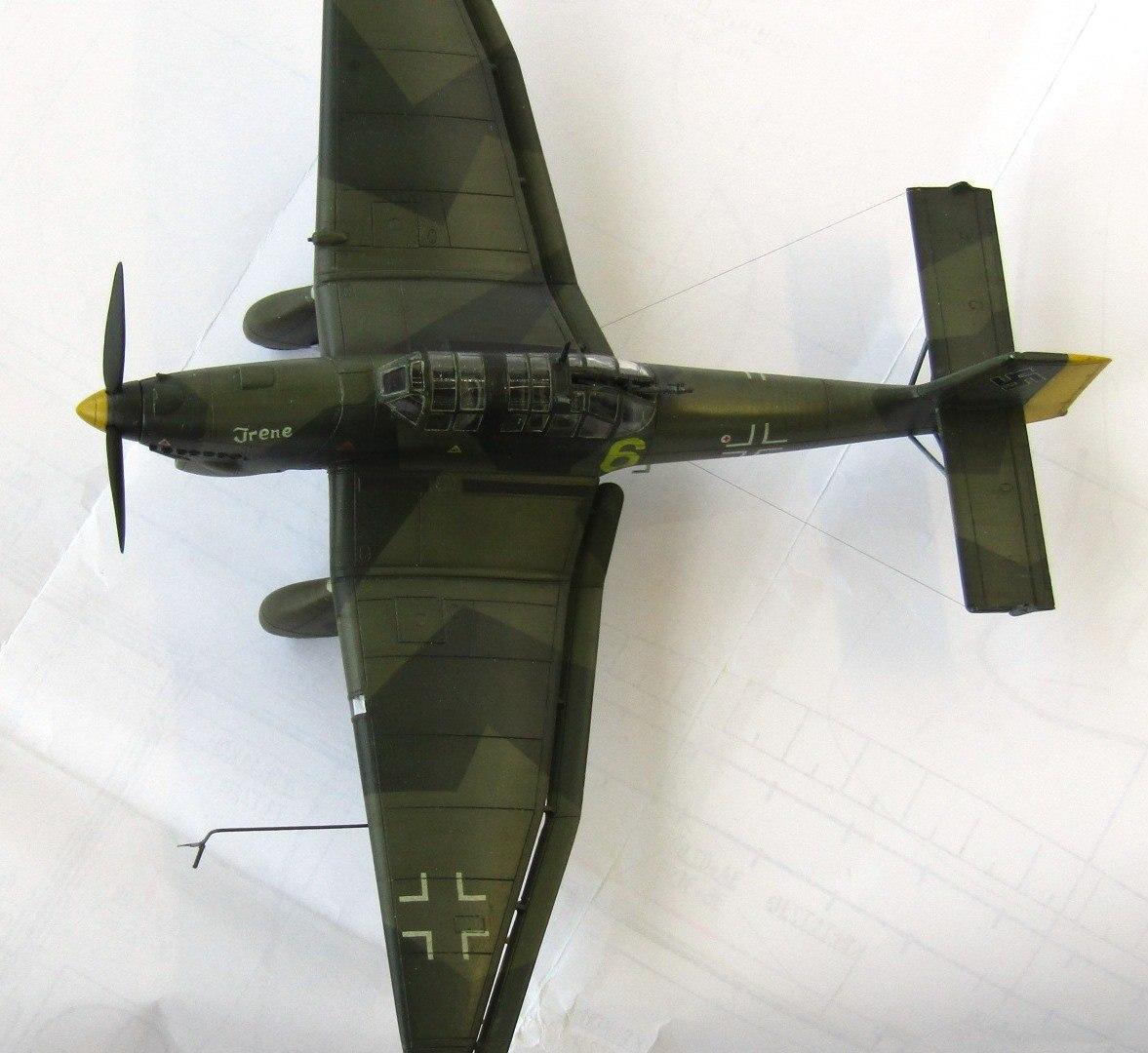 Ju-87A 1/72 (Special Hobby) 0GoKyA-CYRI