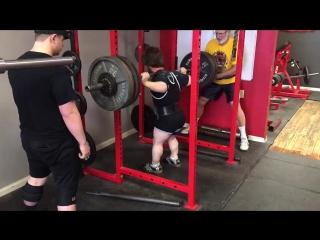 Майкл Кунц - присед 231 кг (61 кг)