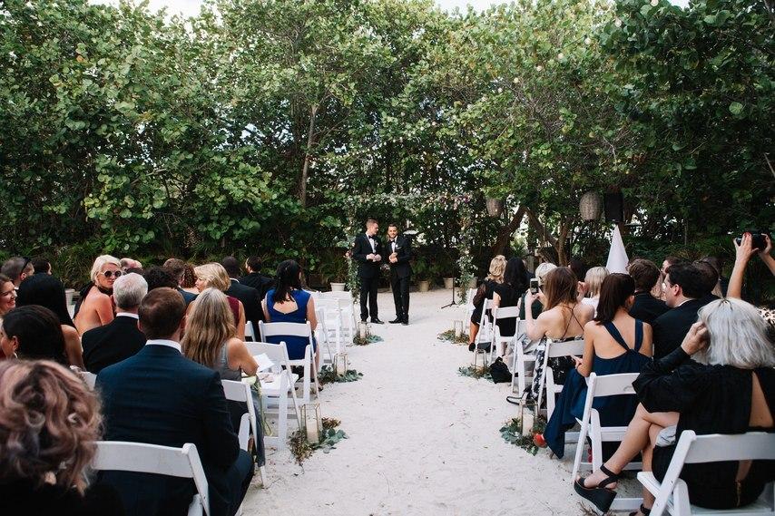 u5GuI YO0nk - Свадьба в стиле пляжной вечеринки в Майами (27 фото)