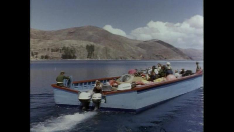 Подводная одиссея команды Кусто. 8 серия Легенда озера Титикака (1969)