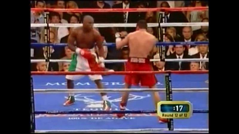 Floyd Mayweather Jr. vs Oscar De La Hoya - Флойд Мэйвезер-мл. - Оскар де ла Хойя