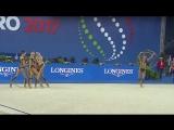 Сборная команда России ГУ - 5 обручей(многоборье) 18.950