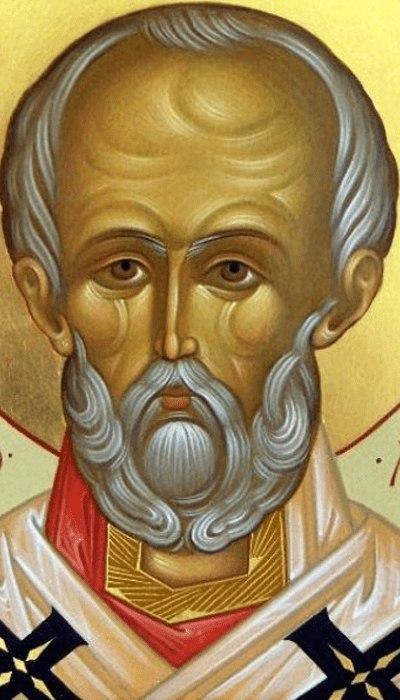 Святитель Николай, Мирликийский Чудотворец (фрагмент иконы)