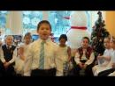 Выступление  ( Макаров Алексей и танец снежинок ) 28122016
