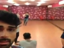 Akshay Dogra and Barun Sobti at Sanaya Irani and Mohit Sehgals rehearsal Nach
