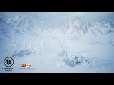 World Machine - Unreal 4 - Snow Map