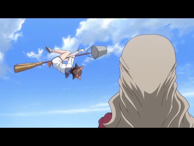 Strike Witches Yoshika's training